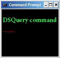 آشنایی با خط فرمان Active Directory