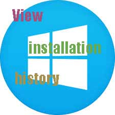 مشاهده زمان نصب ویندوز
